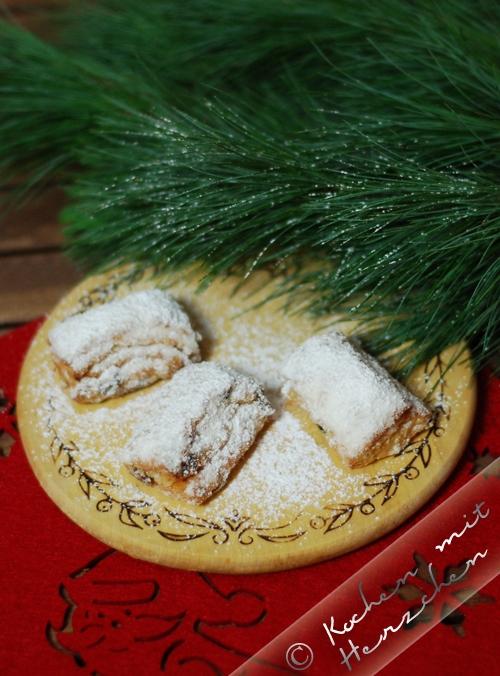 Weihnachtsbäckerei - Quarkstollen
