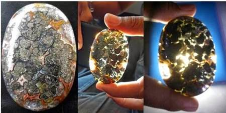 6 Foto Motif Batu Akik Langka dan Khas Daerah Indonesia