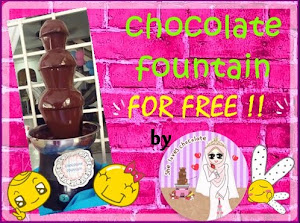Saya Nak Chocolate Fountain For Free!!