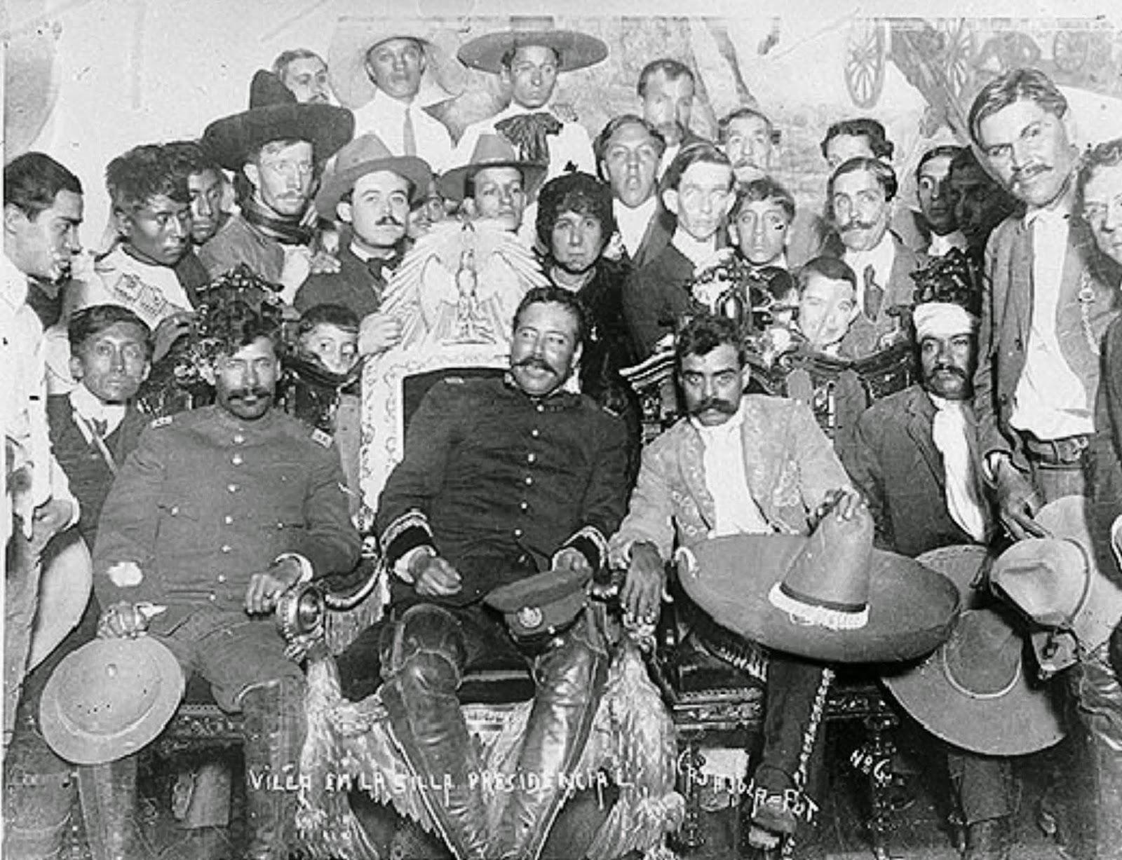Ruta de Villa y Zapata en la Ciudad de México