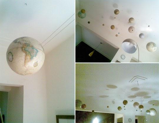 Decorar el techo con planetas somosdeco blog de decoraci n - Decorar el techo ...