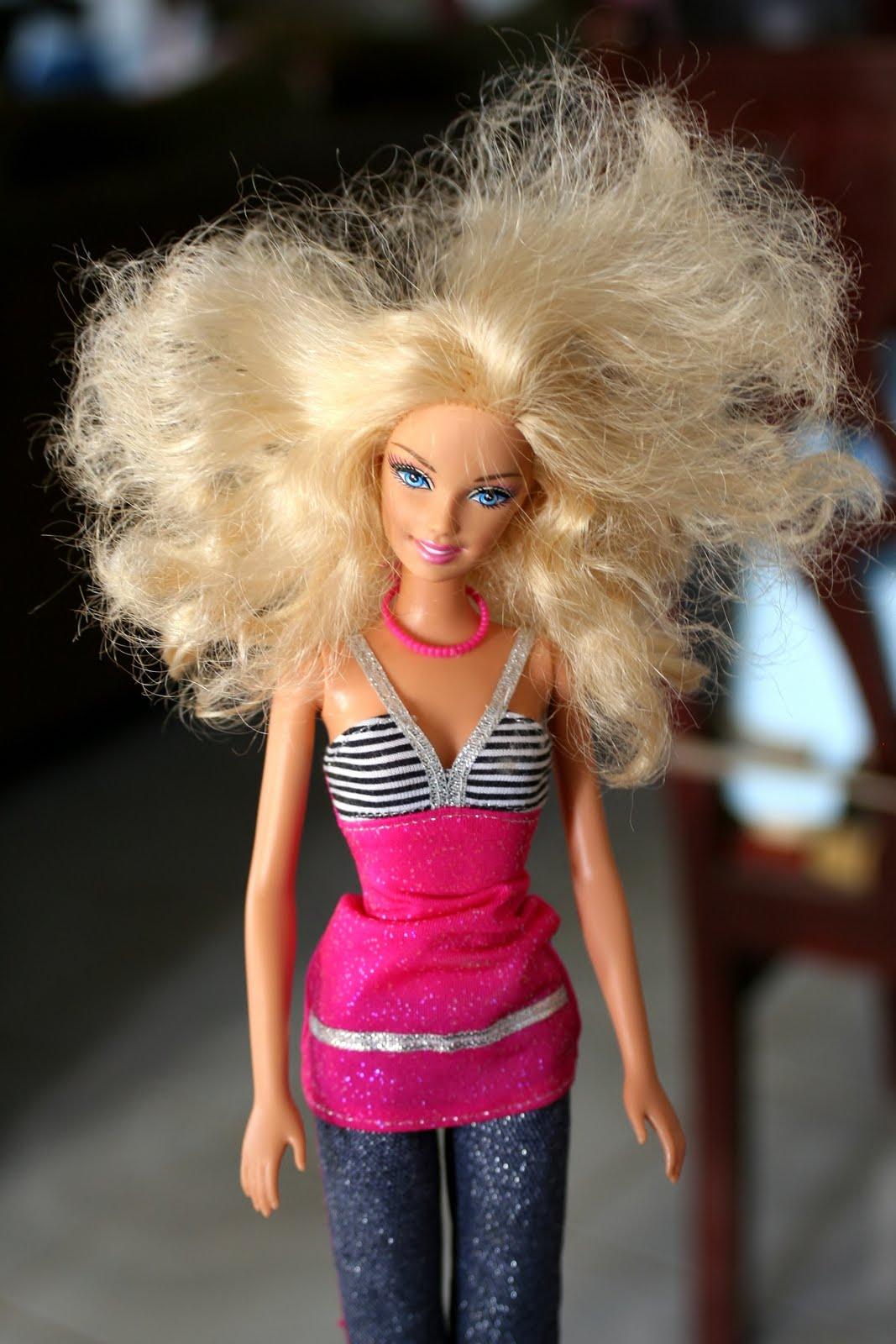 как у куклы брать волосы запутанные