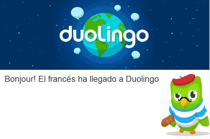 Duolingo. App para aprender idiomas de manera sencilla