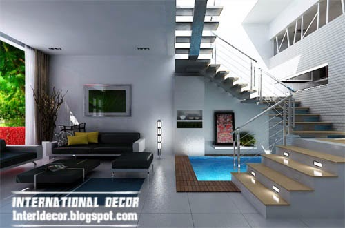 creative lighting design for interior design and stairs lights