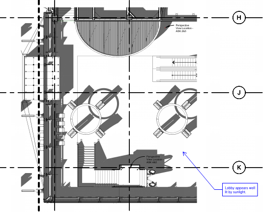how to show hatching on floor plan revit
