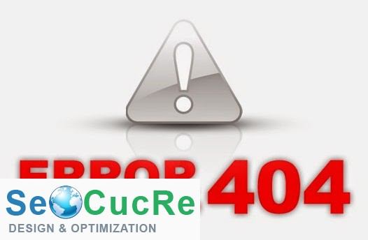xử lí lỗi 404