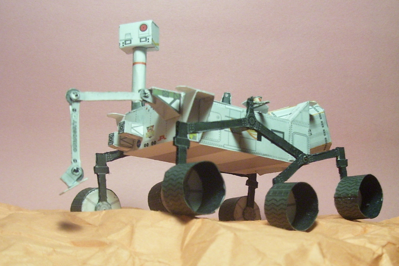 curiosity rover scale model - photo #4