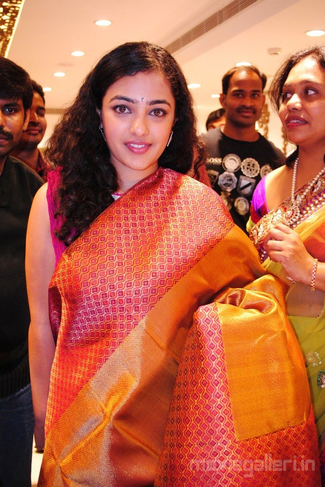 Nithya Menon at Designer Studio Mandir Launch