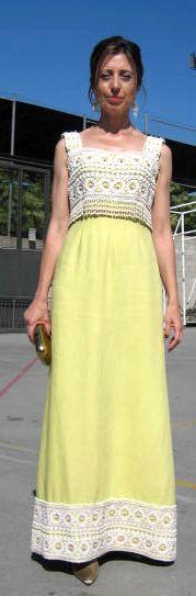Vestido vintage de los 60