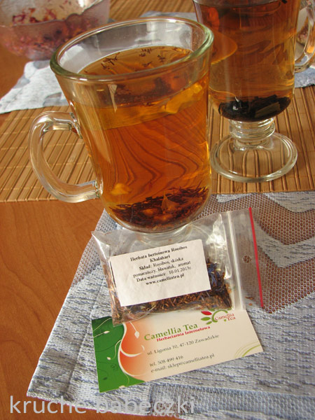 Herbatka bezteinowa rooibos od Camellia Tea