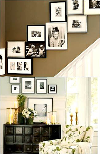 Trend Lifestyles How To Decorate Homes With Photo Wall Art