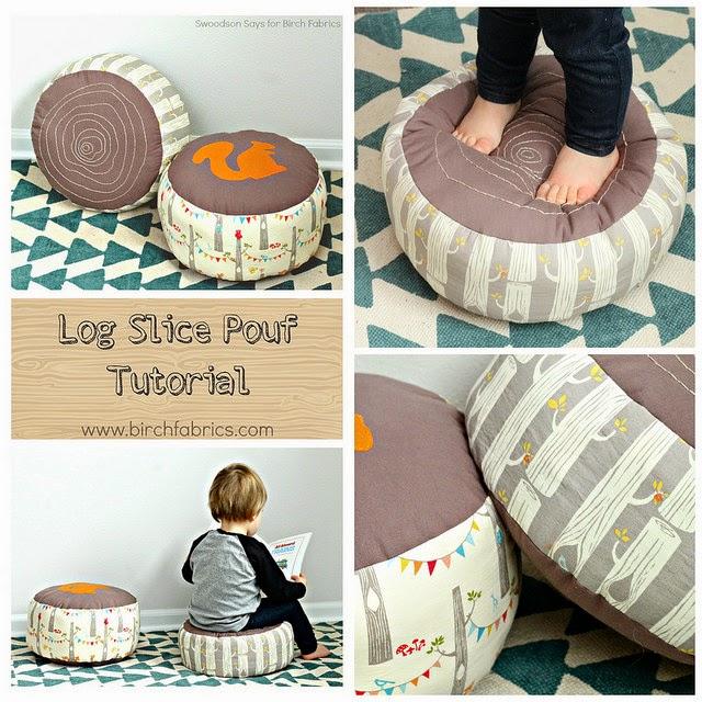Log pillow sewing pattern