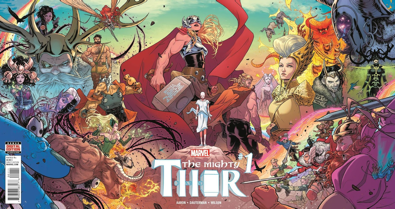 Image result for MIGHTY THOR TP VOL 01 THUNDER IN HER VEINS