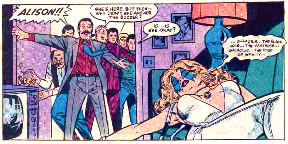To draw Dazzler comics, you had to be an expert at drawing boobs from all ...