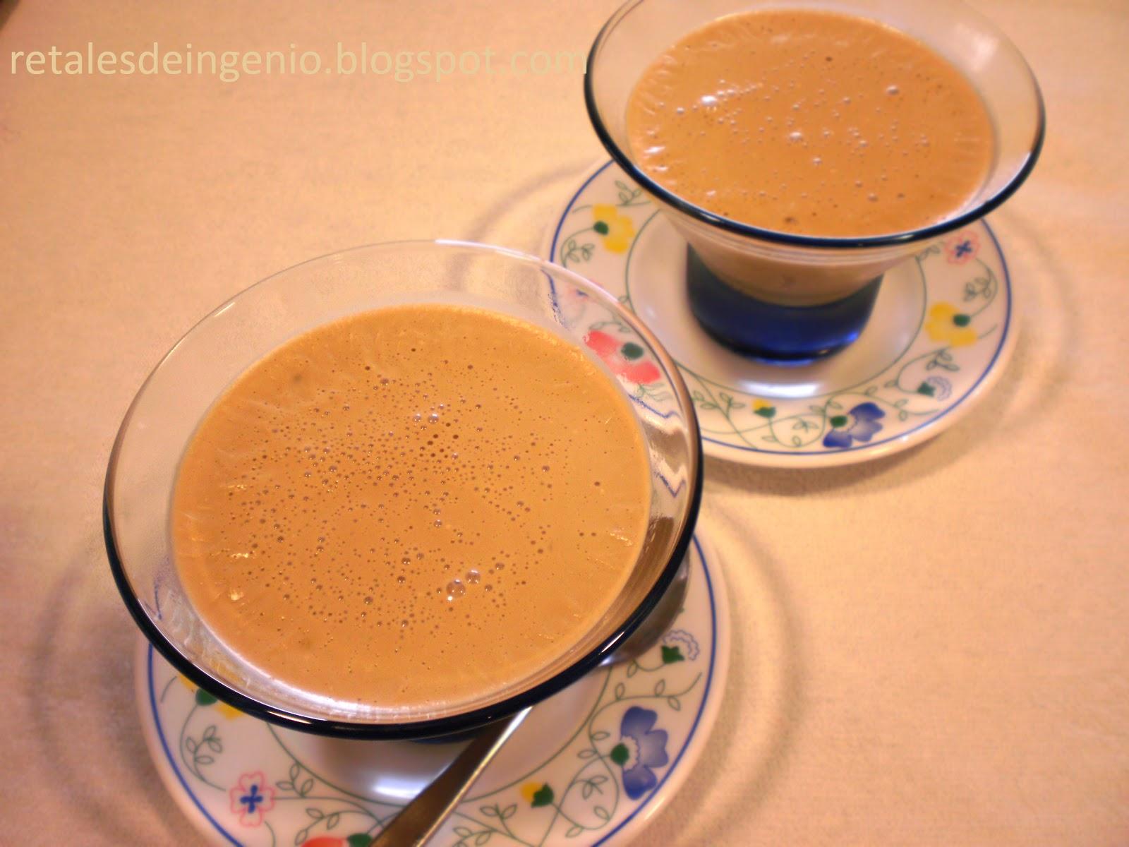 Retales de ingenio recetas y diet tica postre de caf - Postres con queso de untar ...