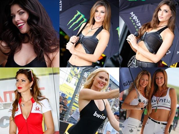 Wanita Cantik dan Seksi MotoGP Spanyol 2015