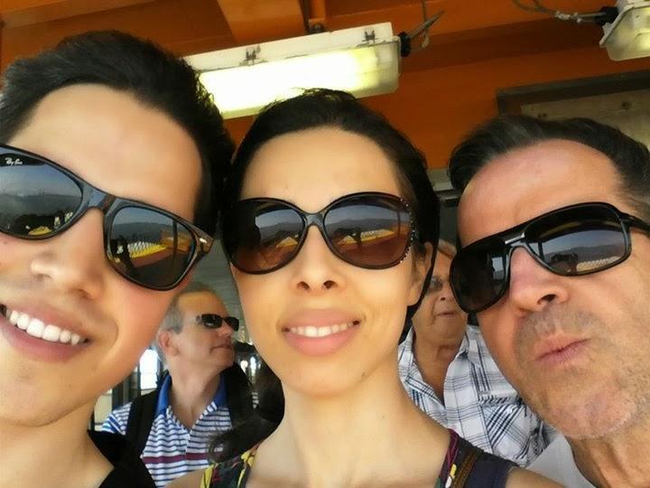 irmão, eu e pai