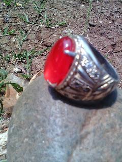 Batu Cincin Akik Darah