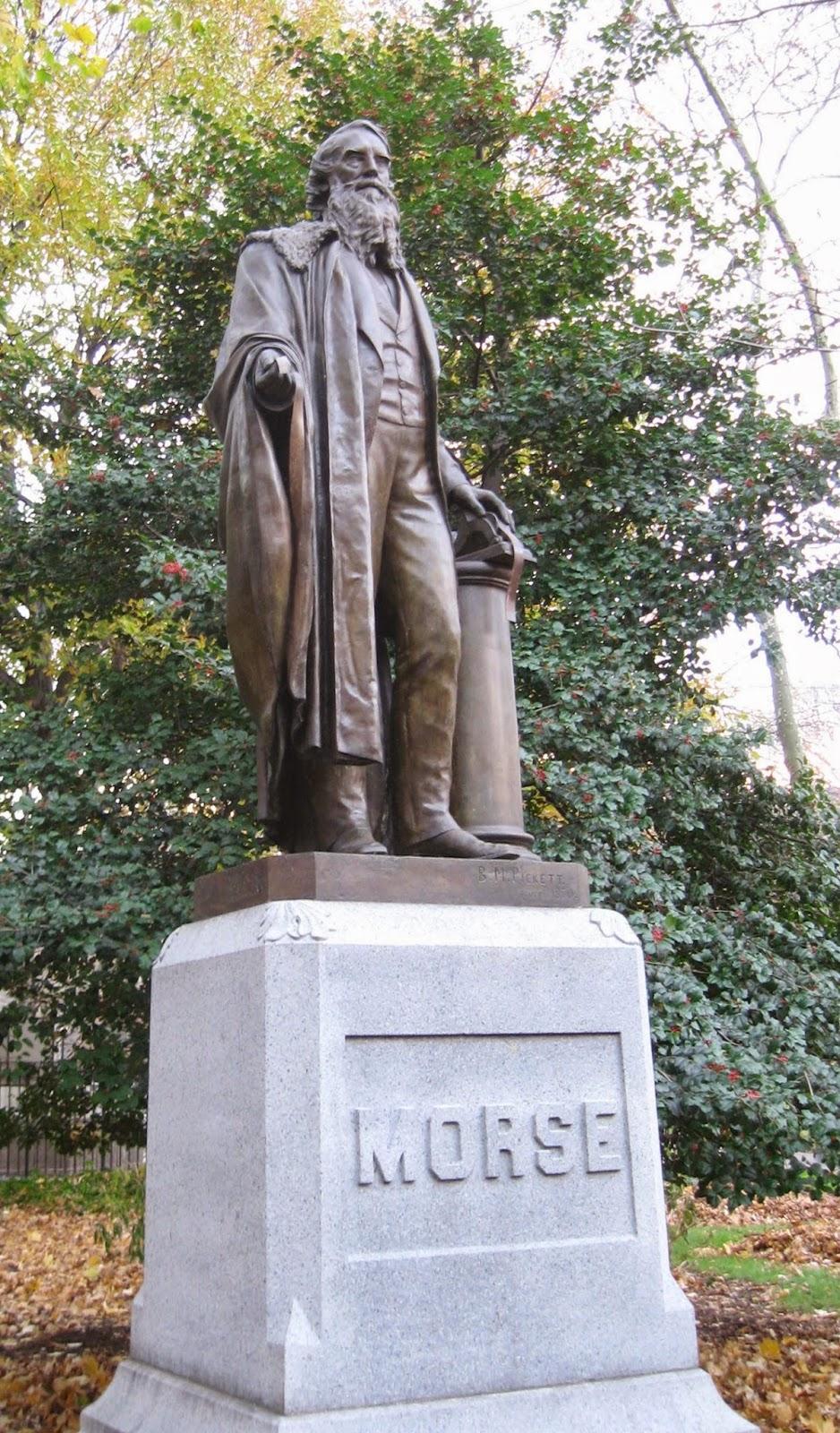 Samuel F.B. Morse Statue, Central Park, NYC