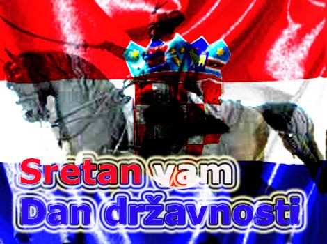 čestitka za dan državnosti hrvatske