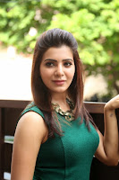 Actress Samantha Latest Pictures in Tight Jeans at Attarintiki Daredi Movie Interview 0003.JPG