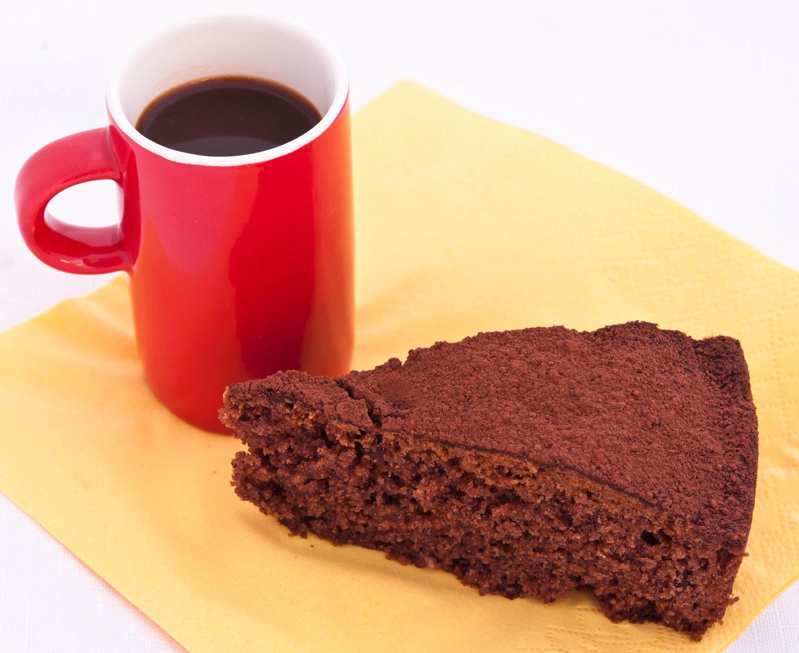 Шоколадов кекс с шоколад