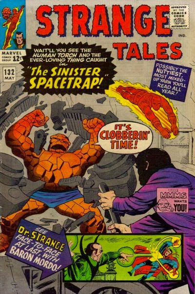 Strange Tales #132, Thing and the Human Torch