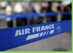 Huelga de pilotos de Air France cumple su cuarto día de paro tras rechazar nueva protesta