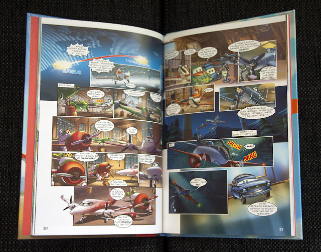 Planes graphic novel adaptation