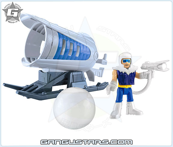 Fisher-Price Imaginext Captain Cold super friends dc comics Fisher-Price imaginext Super Powers アメコミ イマジネックスト バットマン