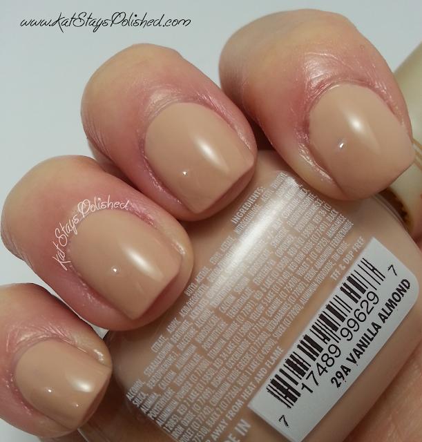 Milani Nail Lacquer - Vanilla Almond