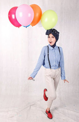 hijab ramadhan 4 Model Gaya Hijab Terbaru di Bulan Ramadhan
