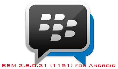 Bbm Apk v2.8 For Android