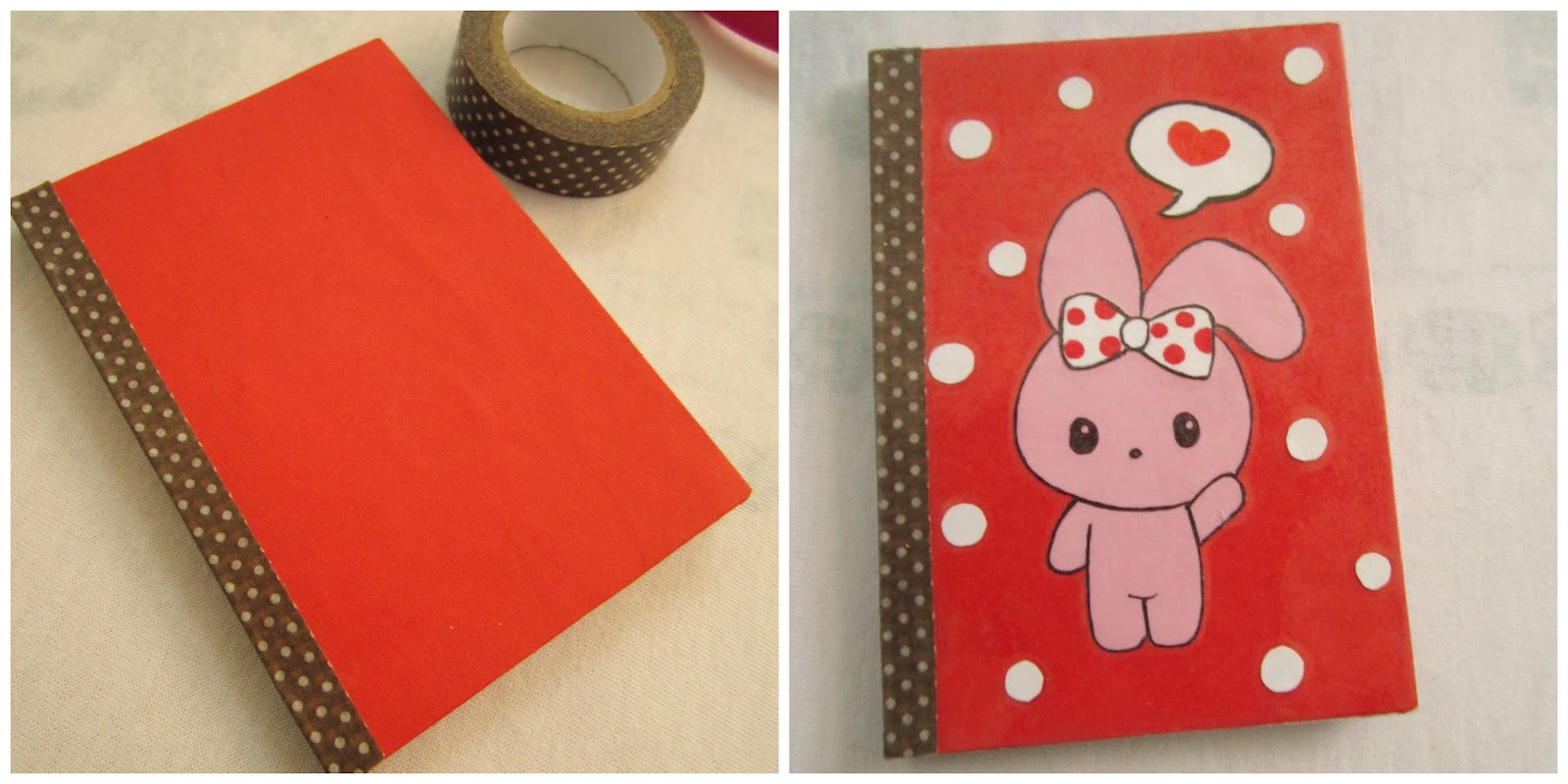 How To Cover A Notebook With Cover Paper : Diy mini notebooks a little love everyday