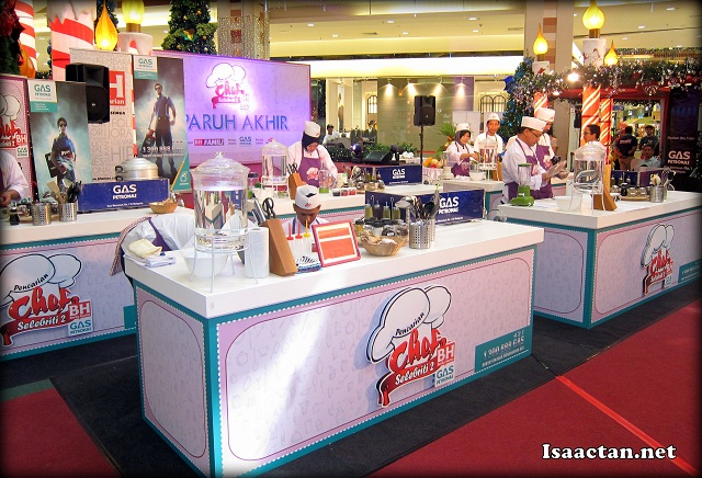 Chef Selebriti 2 Semi Finals @ Aeon Bukit Tinggi Klang