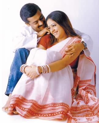 Surya & Jothika in 'Kakka Kakka' Movie 1