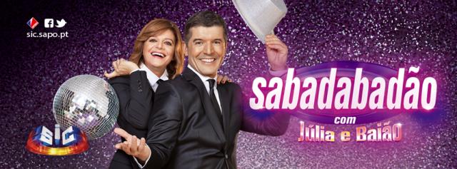 Programa 'Sabadabadão'- com Júlia e Baião! Todos os Sábados à noite na SIC!