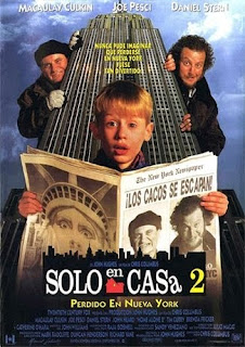 VER Sólo en casa 2: Perdido en Nueva York (1992) ONLINE ESPAÑOL