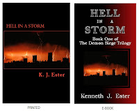 Fantasy Novel - Hell in a Storm, by: K.J.Ester