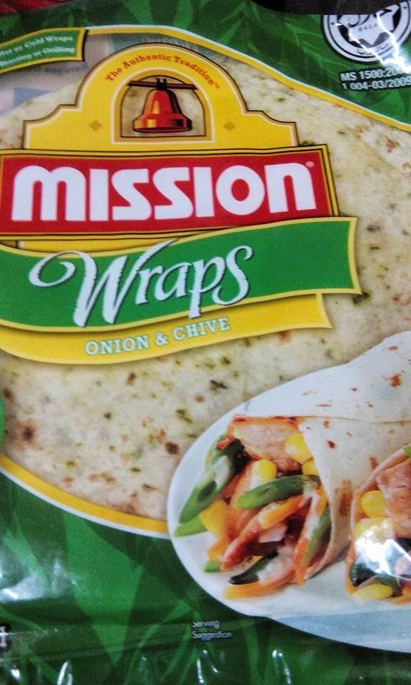 Resepi Chicken Wraps