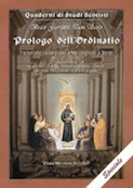 Beato Giovanni Duns Scoto, Prologo dell&#39;Ordinatio