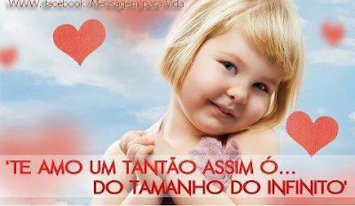 Mensagem de Eu te Amo Tanto para Facebook Engraçado