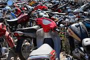 A lo largo de toda la semana pasada fueron ochenta y cinco las motos . img