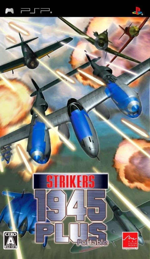 www.juegosparaplaystation.com Strikers 1945 Plus Psp Iso