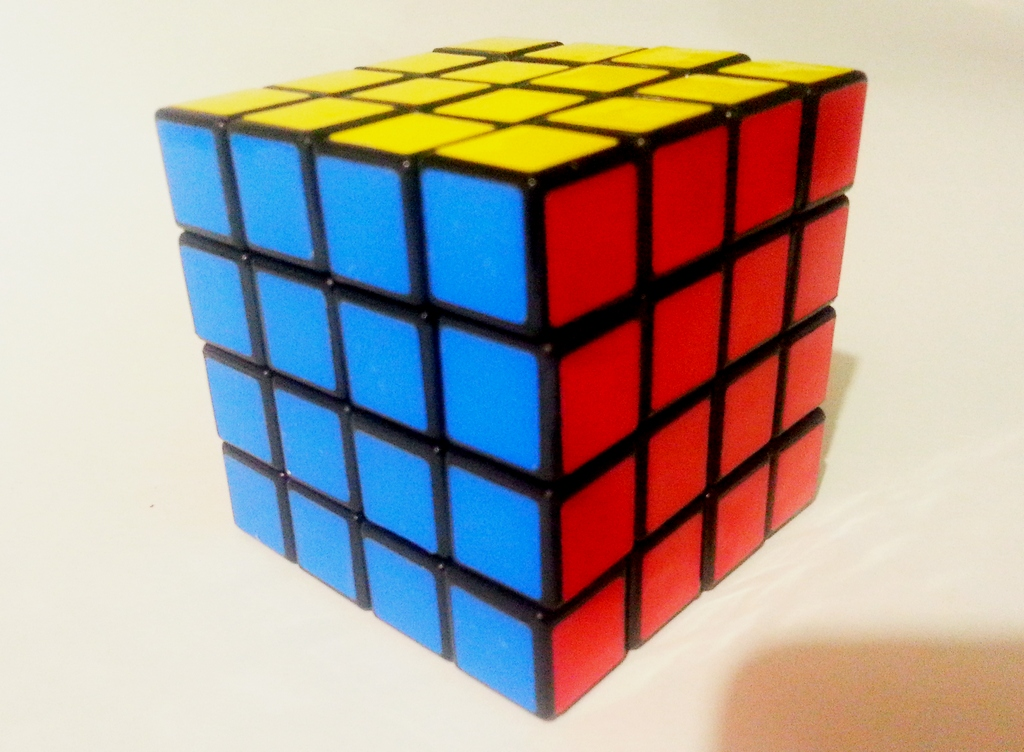 Как собрать кубик рубика сделай сам 954
