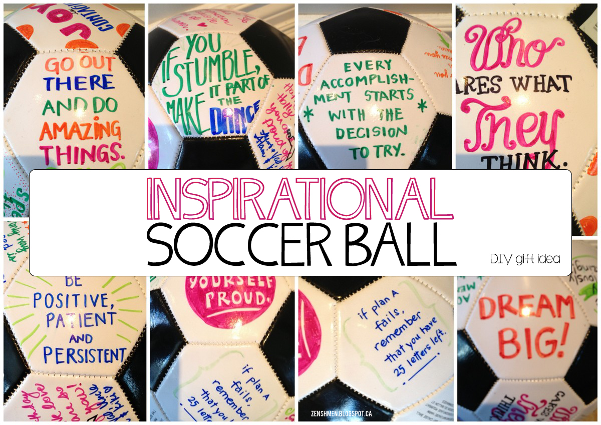 Soccer ball craft ideas - Friday August 30 2013