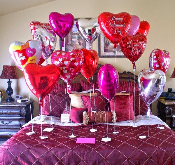 Fun 39 n 39 frolic 5 diy balloon decoration ideas for for Balloon decoration for valentines day