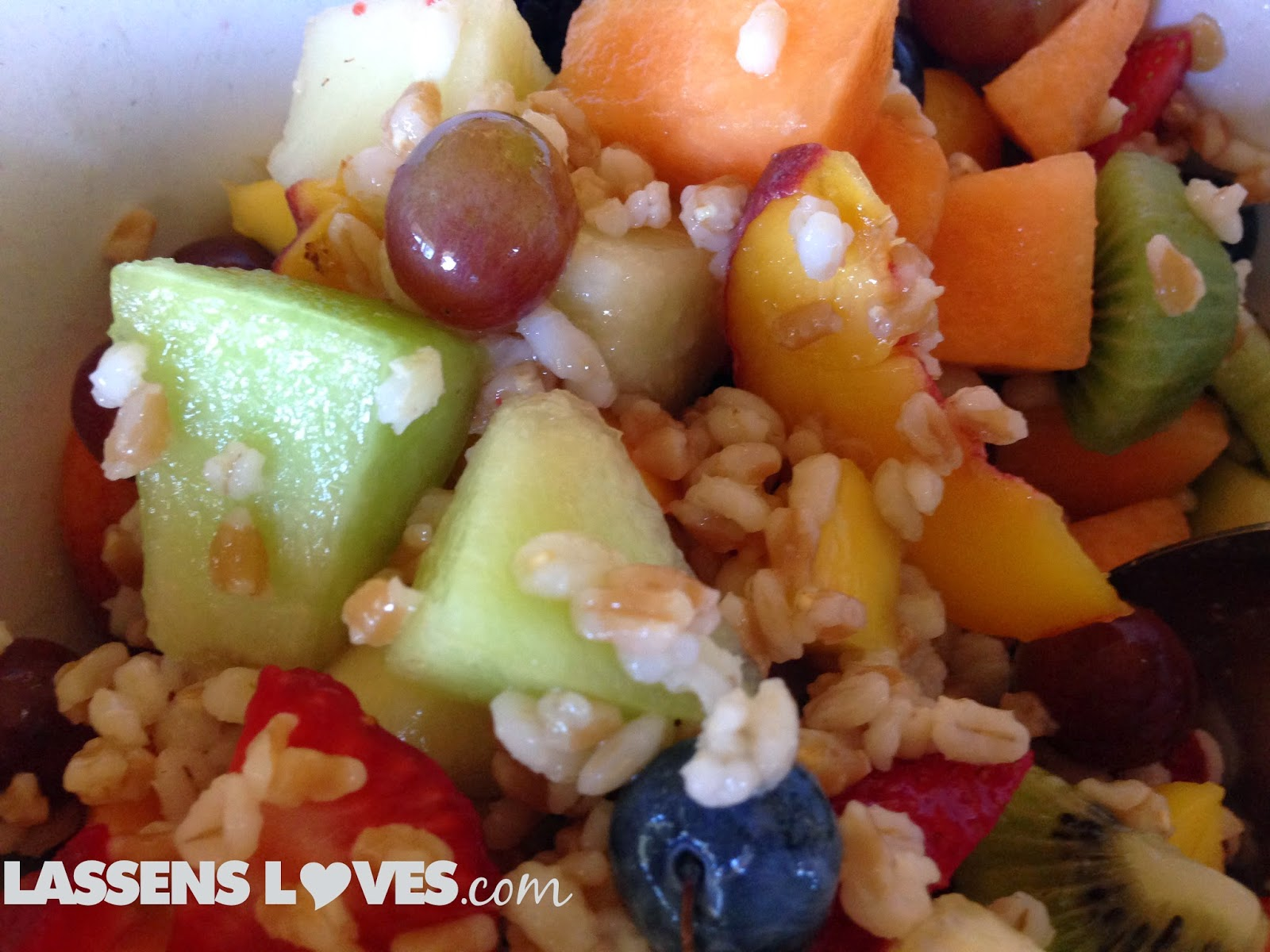 fruit+and+grain+salad, farro+grain, barley+salad, healthy+salad