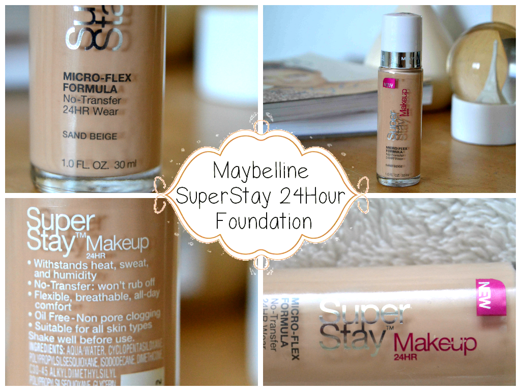 Beautylish Life : Maybelline SuperStay 24Hour Makeup Foundation ...