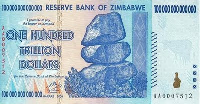 one hundred trillion dollars banknote